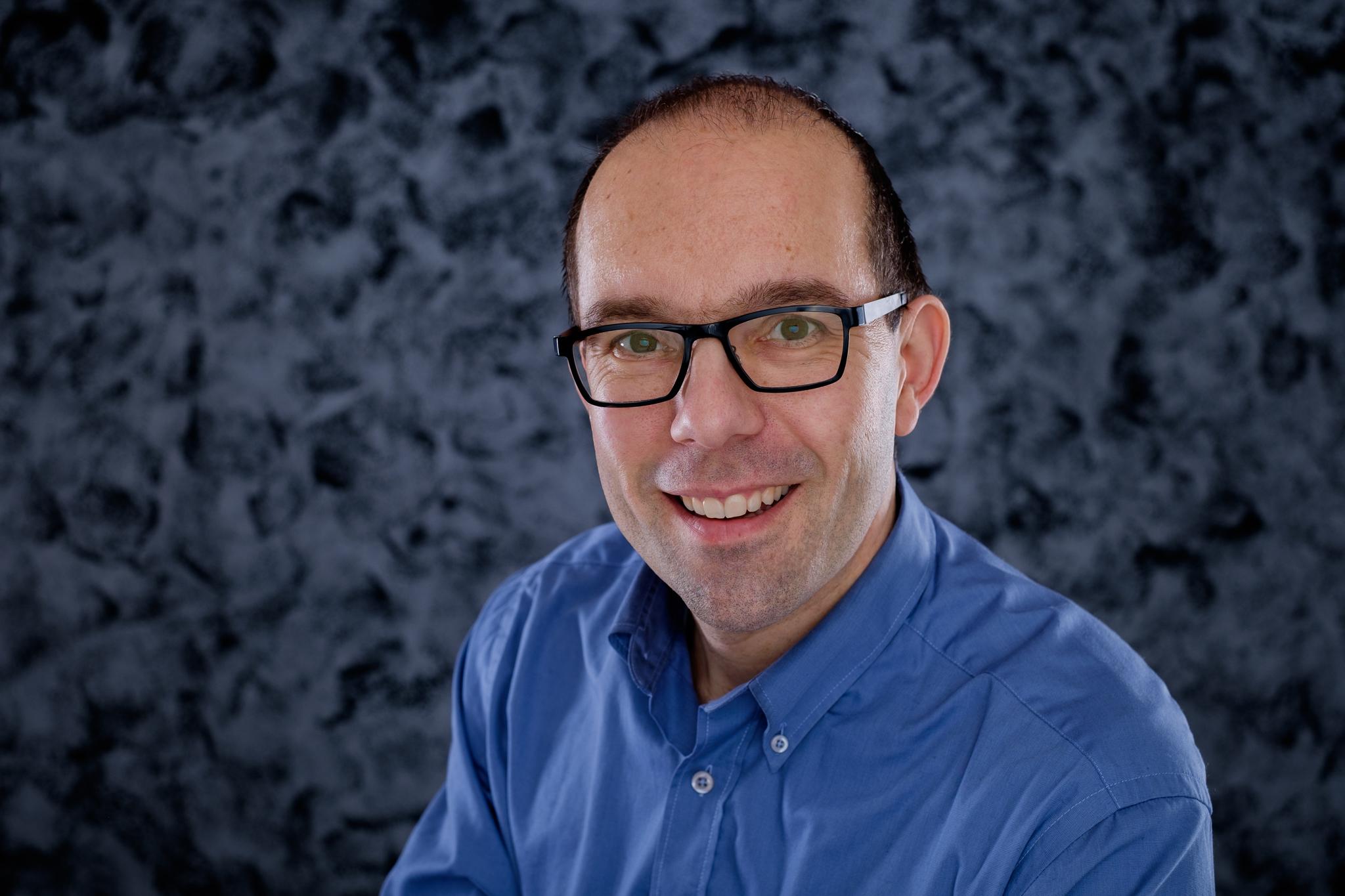 zelfportret Walter Verwaal